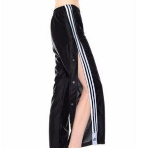 2399c713 adidas Pants   Striped Tear Away Snap Popper Athletic Pant   Poshmark